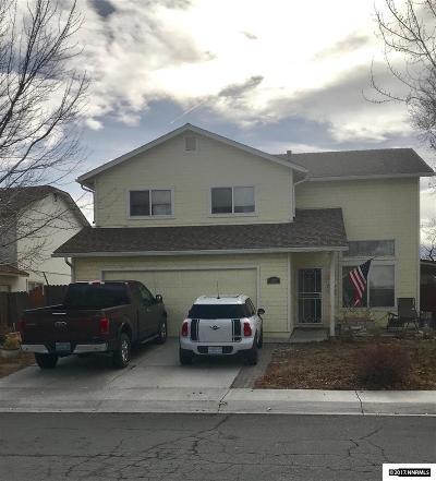 Fernley Single Family Home New: 122 Desert Springs Lane