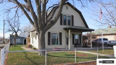 Battle Mountain Single Family Home For Sale: 292 E 2nd Street