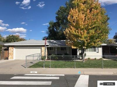 Carson City County Single Family Home New: 113 N Carson Meadow