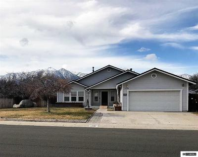 Gardnerville Single Family Home Active/Pending-Loan: 1406 Patricia Dr