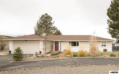 Gardnerville Single Family Home Active/Pending-Loan: 1040 Arrowhead Dr