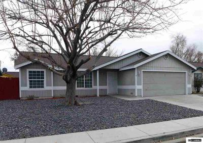 Fernley Single Family Home Active/Pending-Loan: 125 Primrose Dr