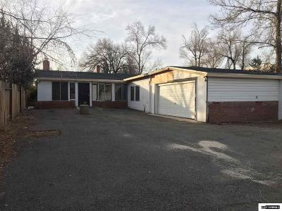Reno Single Family Home Back On Market: 1987 S Arlington