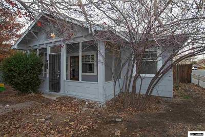 Washoe County Single Family Home New: 445 13th Street