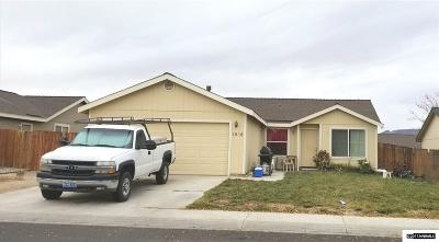 Fernley Single Family Home New: 1038 Rosehips Lane