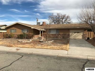 Yerington Single Family Home For Sale: 416 S California St.