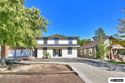 Washoe County Multi Family Home New: 80 Vine St.