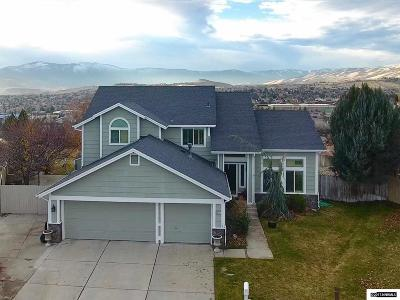 Washoe County Single Family Home New: 5391 Butterfly Ct