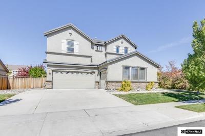 Sparks Single Family Home For Sale: 3814 Dorado