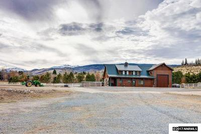 Washoe County Single Family Home For Sale: 1580 Del Monte Lane