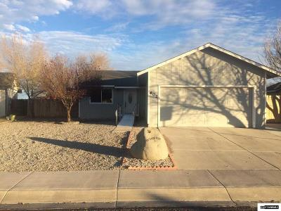 Fernley Single Family Home Active/Pending-Loan: 602 Ranch Road
