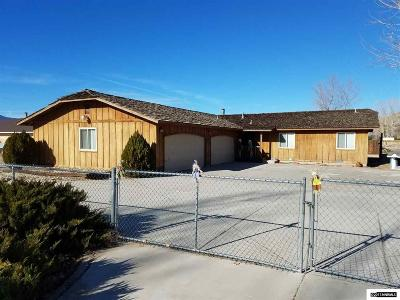 Minden Single Family Home Active/Pending-Loan: 1370 Downs Drive
