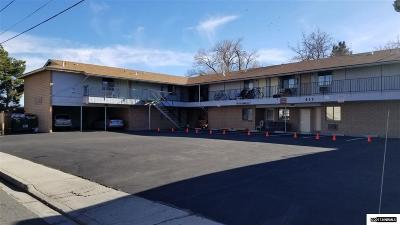 Carson City Multi Family Home For Sale: 417 E Park