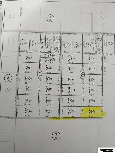 Yerington Residential Lots & Land For Sale: Pelican