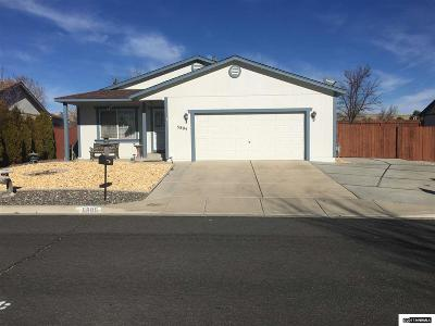 Sun Valley Single Family Home For Sale: 5895 Wishbone Ct.