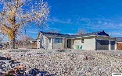 Fernley Single Family Home For Sale: 631 Spring Drive