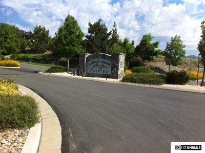 Genoa NV Residential Lots & Land For Sale: $170,000