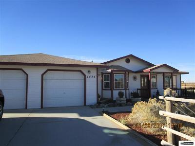 Fallon Single Family Home For Sale: 1535 Potpourri Drive