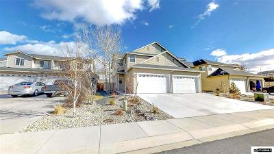 Carson City Single Family Home For Sale: 825 Cassidy Ct