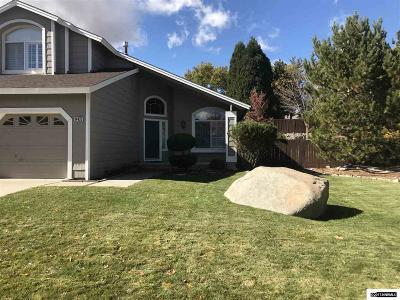 Reno Single Family Home Active/Pending-Loan: 14425 Ghost Rider
