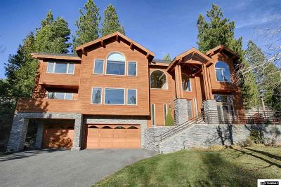 Incline Village Single Family Home Active/Pending-Call: 636 Lariat Cir