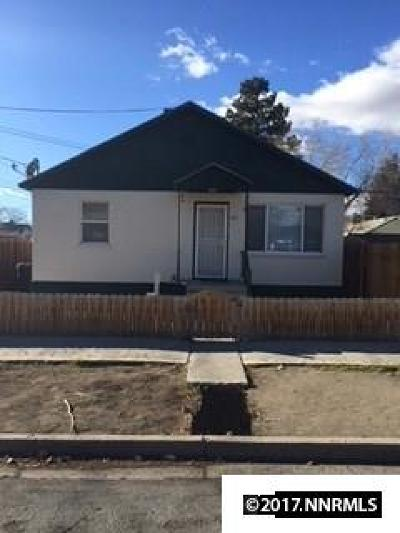 Sparks Single Family Home Active/Pending-Loan: 925 16th Street