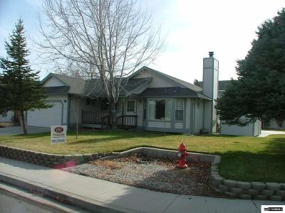 Carson City Single Family Home Active/Pending-Call: 4141 Stampede Dr.