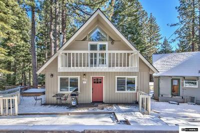 South Lake Tahoe Single Family Home For Sale: 1881 Brule St