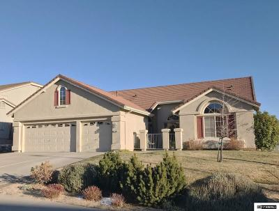 Reno Single Family Home Active/Pending-Loan: 3000 Blackthorn