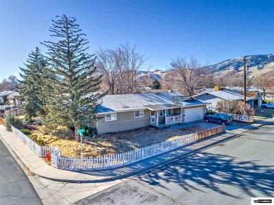Carson City Single Family Home For Sale: 1405 Karin Dr
