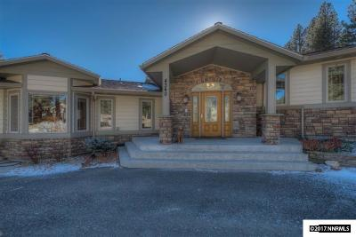 Carson City Single Family Home For Sale: 4340 Combs Canyon Road