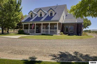 Gardnerville Single Family Home For Sale: 1517 Chance Road