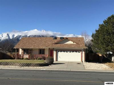 Gardnerville Single Family Home Active/Pending-Loan: 662 Bluerock
