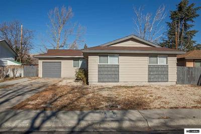 Reno Single Family Home For Sale: 3355 Downey Avenue