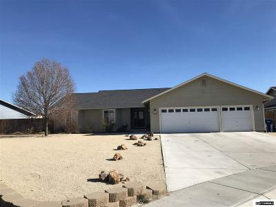 Fernley Single Family Home For Sale: 1003 Lehman Court