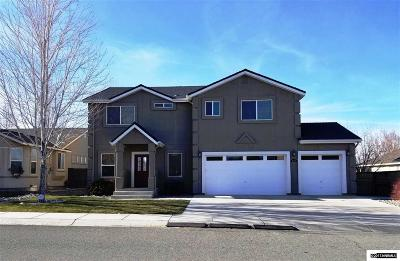 Fernley Single Family Home New: 447 Dog Leg Drive