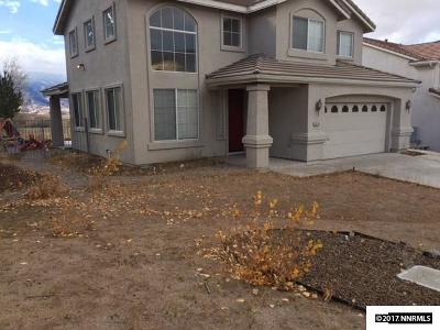 Reno Single Family Home New: 2610 Beaumont Parkway