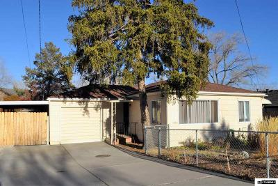 Reno Single Family Home Back On Market: 1880 Keystone Avenue