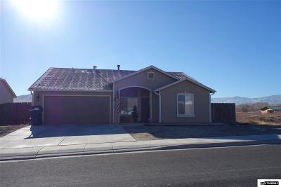 Fernley Single Family Home New: 1039 Brierwood Lane