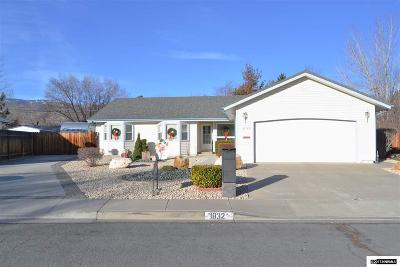 Carson City Single Family Home New: 1832 Belmont