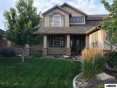 Carson City Single Family Home New: 1580 Robb Drive
