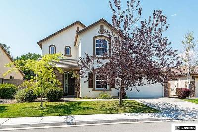 Reno Single Family Home New: 10608 Fire Poppy Circle