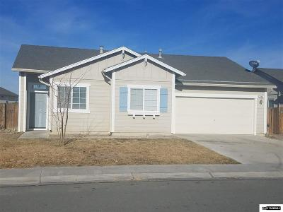 Fernley Single Family Home New: 296 Fallen Leaf Lane