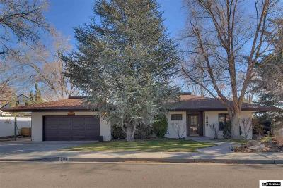 Reno Single Family Home New: 2180 Humboldt
