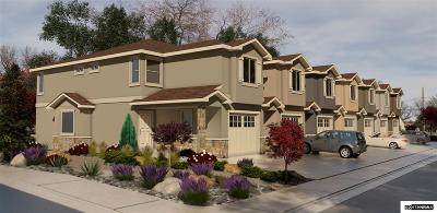 Carson City Condo/Townhouse For Sale: 660 Anderson Street