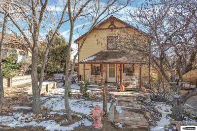 Virginia City Single Family Home For Sale: 195 S I St