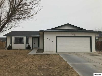 Fernley Single Family Home For Sale: 703 Todd Court