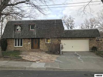 Carson City Single Family Home Active/Pending-Loan: 408 W Sixth St