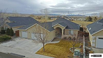 Fernley Single Family Home Active/Pending-Loan: 713 Divot Drive