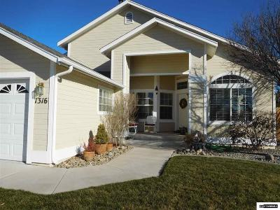 Gardnerville Single Family Home Active/Pending-Loan: 1316 Chichester Drive Plus Office